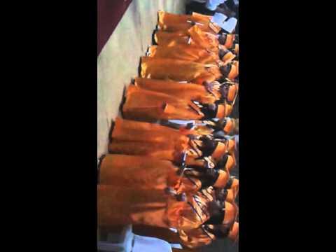 Formatura no escola ceeb em santa ines