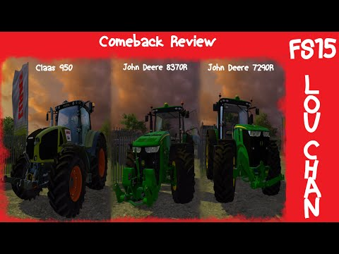 JOHN DEERE 7290R / 8370R  Pack v0.2 Beta