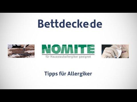 Tipps für Allergiker von Bettdecke.de