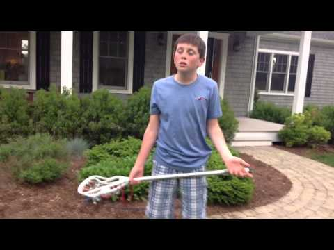 how to teach lacrosse cradling