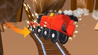 Thomas and Friends: Magical Tracks - Train Catch Fire Very Dangerous & Protection - Part 7