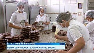 Venda de ovos de Páscoa ajuda a manter atividades de Centro Social