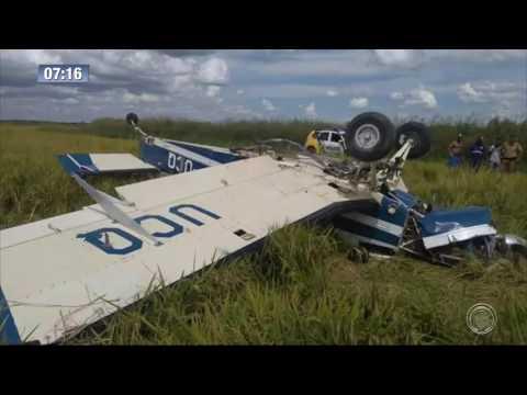 Avião carregado de cocaína cai próximo a Querência do Norte e piloto desaparece