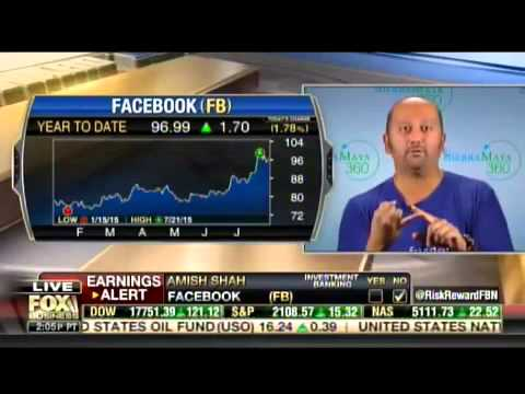 Amish Shah Discusses Facebook earnings on Fox Business