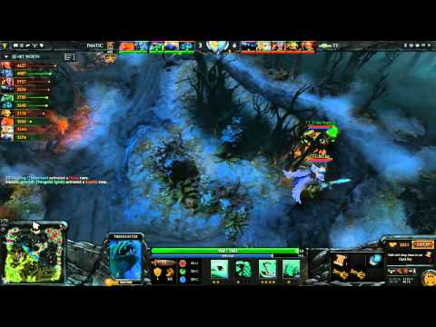 Tinker vs Fnatic - Dota 2 Champions League - G2
