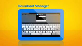 Maxthon Browser for Tablet YouTube video