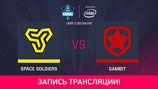SSoldiers vs Gambit, game 1