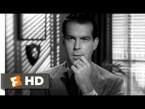 Double Indemnity (6/9) Movie CLIP - Murder's Never Perfect (1944) HD