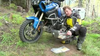 8. Yamaha Super Tenere - Aluminum Skidplate