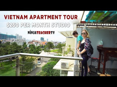 250 USD Studio in District 7 ho Chi Minh City Vietnam
