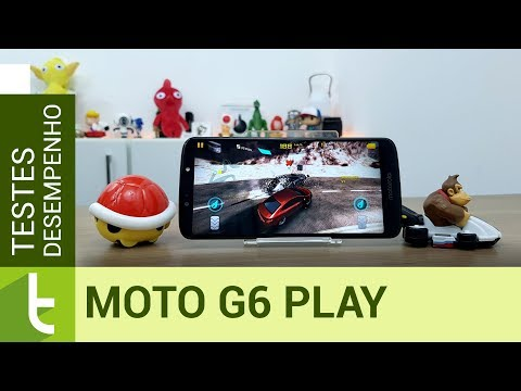 Tudocelular - Moto G6 Play vai bem no multitarefas, mas é mais fraco que irmãos em jogos