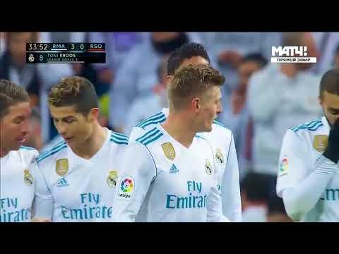 Real Madrid vs Real Sociedad 5 2   All Goals & Extended Highlights  10 02 2018 HD