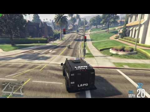 GTA V Multiplayer Police RP - House Raid