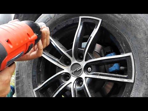 Impact wrench Yato YT 82020 450 NM 1 2   Tests