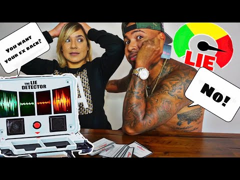 COUPLE LIE DETECTOR TEST!!! ( HE WANTS HIS EX BACK)