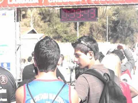 7ª corrida rustica sapucaí mirim - chegada da prova 10km.wmv