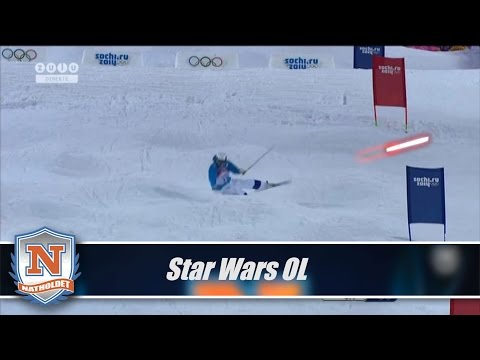 Star Wars and Olympics Mogul Mashup