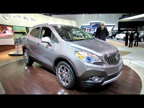 Buick  2013 Buick Encore Debut at 2012 New York International Auto Show NYIAS