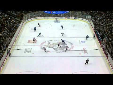 Sidney Crosby one-timer goal 12/6/10