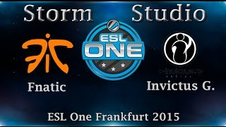 Fnatic vs IG, game 1