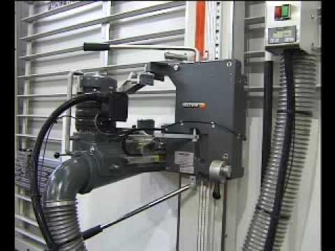 Holz-Her PK 1225 függőleges lapszabászgép