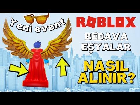 YENİ EVENT BEDAVA KANAT VE PELERİN KAZANMAK / ROBLOX Bloxy Event