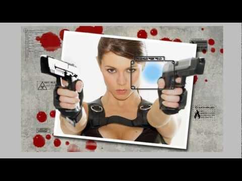 Creacion de una imagen saliendo de una fotografia en adobe photoshop Cs5