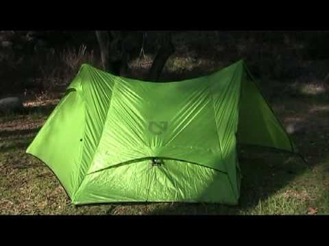 meta 2ptent - This is the Nemo Meta 2P treking pole tent, a look and review. This tent comes with no poles, it uses your treking poles to set up. It's wind and rain proof ...