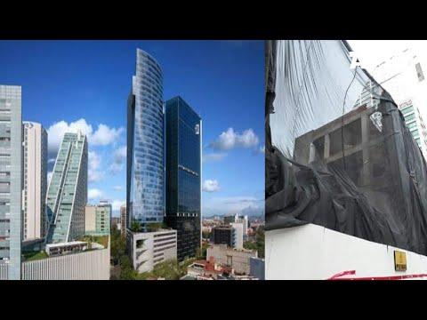 Reforma Nápoles | Avances de la Demolición del Edificio (EBC) para su Construcción, CDMX 2018 (видео)