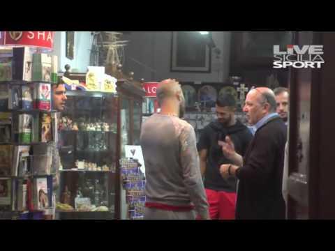 Palermo salvo: la squadra in pellegrinaggio a Santa Rosalia