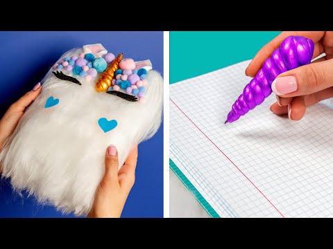 10 Fun DIY School Supplies!  School Hacks and More! - Thời lượng: 11 phút.