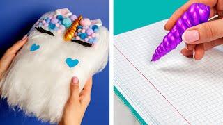 Video 10 Fun DIY School Supplies!  School Hacks and More! MP3, 3GP, MP4, WEBM, AVI, FLV Maret 2019
