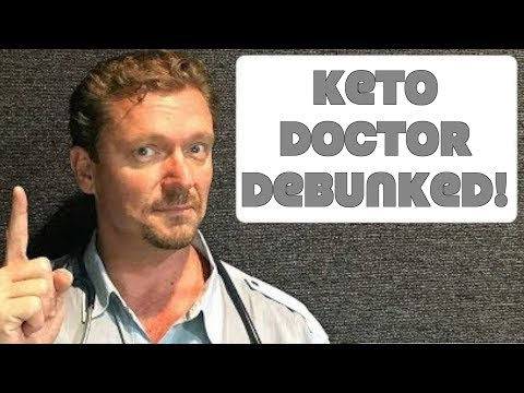 Keto Doctor Debunks Low Carb Causes Early Death Study (ARIC/Lancet Study) (видео)