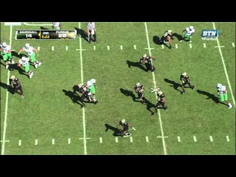 Ricardo Allen 39-yard pick six vs Marshall 2012 video.