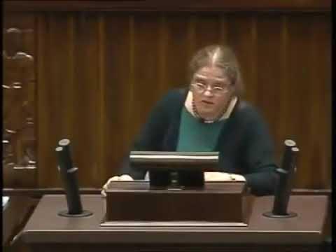 Krystyna Pawłowicz o głosowaniu korespondencyjnym.