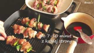 Kurczak yakitori - szaszłyki po japońsku