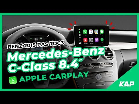 Mercedes-BENZ C-Class 8.4inch Apple CarPlay (2016~2018) W205