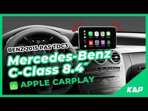 Mercedes-BENZ C-Class 8.4inch Apple CarPlay (2016~2018) W205