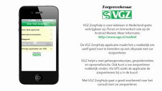 VGZ ZorgHulp YouTube video