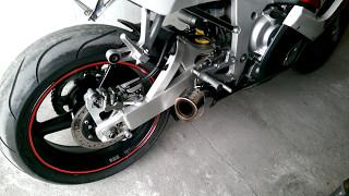 4. Yamaha YZF R6 2000 + Scorpion GP sound exhaust cz1