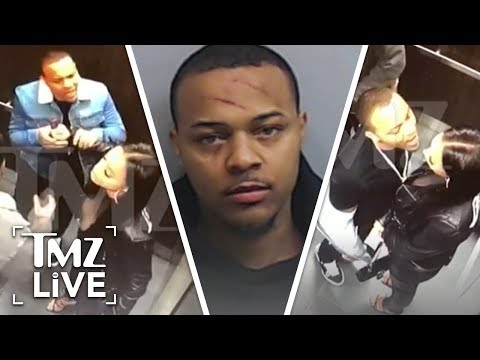 Bow Wow: The Explosive Elevator Fight Video | TMZ Live