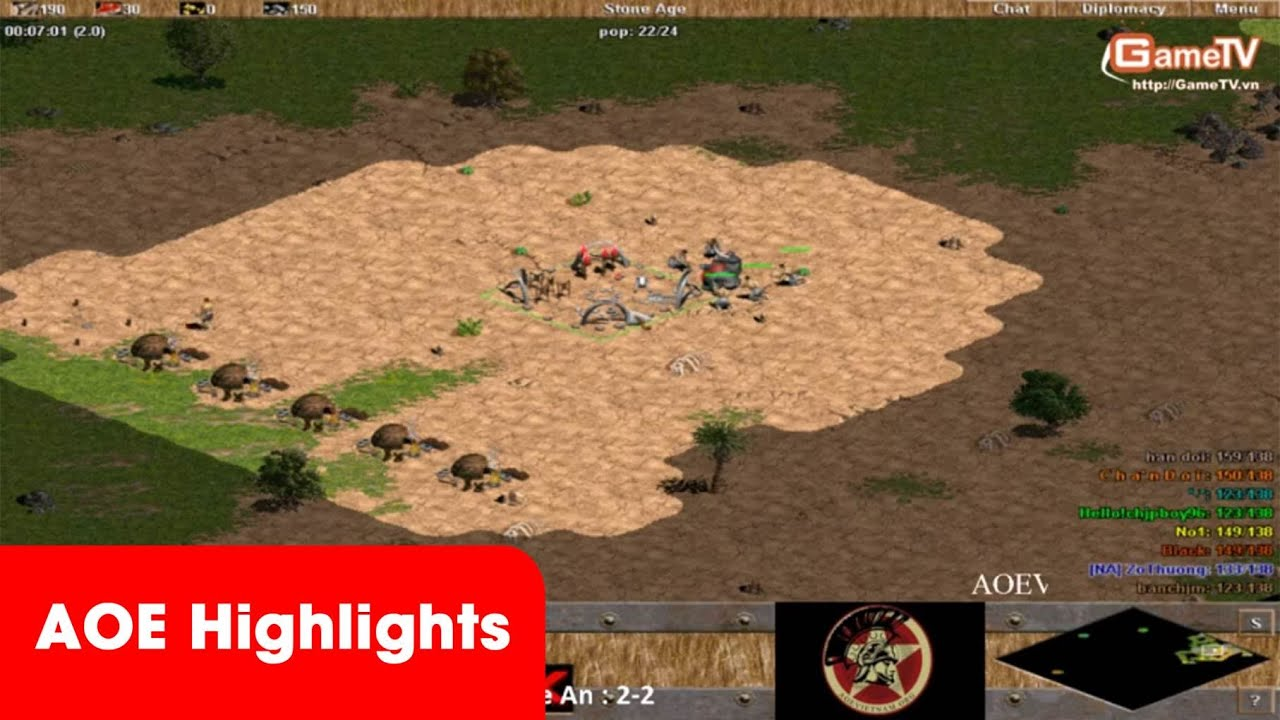AOE Highlights,  Trận cầm Greek rất hay của ChipBoy96