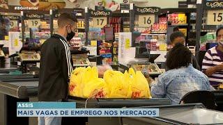 Rede de supermercados amplia vagas de empregos
