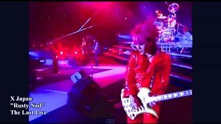 "Video X Japan Rusty Nail from ""The Last Live"" HD MP3, 3GP, MP4, WEBM, AVI, FLV Maret 2019"
