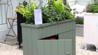 #473 Hampton Court Flower Show 2011 - Kräuter in Möbeln