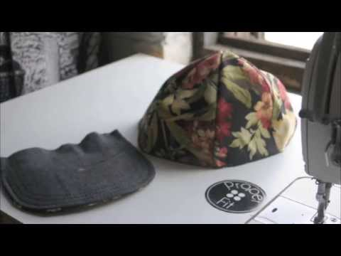 How to make a Snapback Baseball Hat | ProperFit DIY