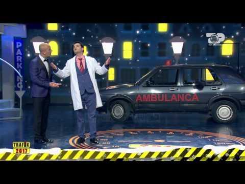 Trafik 2017, 31 Dhjetor 2016 - Doktori, Pacientja dhe Ambulanca ne Golf 2