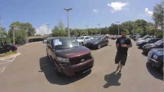 Autoline's 2008 Scion XB Walk Around Review Test Drive