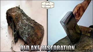 Video Rusty Old Axe Restoration MP3, 3GP, MP4, WEBM, AVI, FLV April 2019