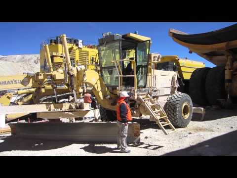Komatsu Grader Access Systems by Power Step
